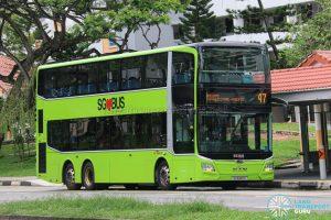Bus 47 - SBS Transit MAN A95 Euro 6 (SG6169X)