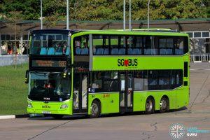 Bus 883 - SMRT Buses MAN A95 Euro 6 (SG6192C)