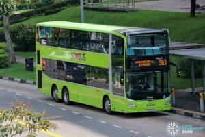 Bus 963 - SMRT Buses MAN A95 Euro 6 (SG6196S)