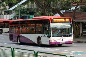 Bus 91 - SBS Transit Mercedes-Benz Citaro (SBS6200B)