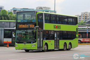 Bus 912B - SMRT Buses MAN A95 Euro 6 (SG6241U)