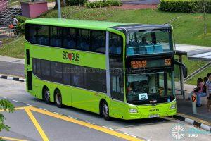 Bus 52 - SBS Transit MAN A95 Euro 6 (SG6248B)