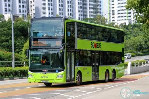 Bus 168 - SBS Transit MAN A95 Euro 6 (SG6258Y)