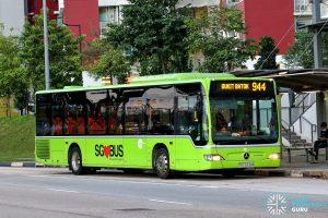 Bus 944 - Tower Transit Mercedes-Benz Citaro (SBS6338M)