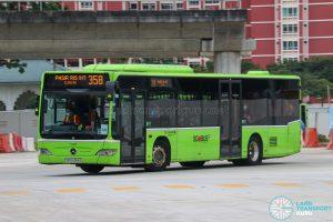 Bus 358 - Go-Ahead Singapore Mercedes-Benz Citaro (SBS6384D)