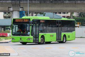 Bus 358T - Go-Ahead Singapore Mercedes-Benz Citaro (SBS6384D)