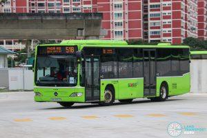 Express 518 - Go-Ahead Singapore Mercedes-Benz Citaro (SBS6412G)