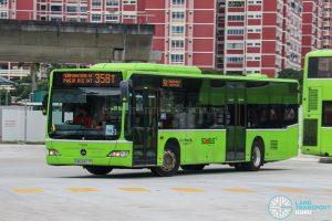 Bus 358T - Go-Ahead Singapore Mercedes-Benz Citaro (SBS6427P)