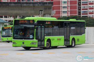 Bus 15 - Go-Ahead Singapore Mercedes-Benz Citaro (SBS6428L)