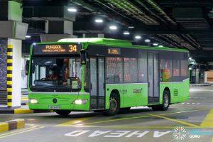 Bus 34 - Go-Ahead Singapore Mercedes-Benz Citaro (SBS6431B)