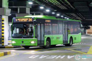 Bus 34 - Go-Ahead Singapore Mercedes-Benz Citaro (SBS6441Y)