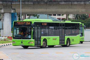 Bus 354 - Go-Ahead Singapore Mercedes-Benz Citaro (SBS6451T)