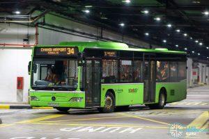 Bus 34 - Go-Ahead Singapore Mercedes-Benz Citaro (SBS6454K)