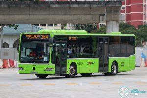 Bus 354 - Go-Ahead Singapore Mercedes-Benz Citaro (SBS6465D)