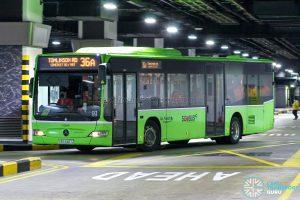 Bus 36A - SBS Transit Mercedes-Benz Citaro (SBS6467Z)