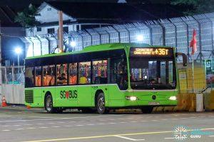 Bus 36T - Go-Ahead Singapore Mercedes-Benz Citaro (SBS6486T)