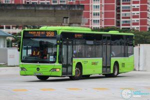 Bus 358 - Go-Ahead Singapore Mercedes-Benz Citaro (SBS6498J)