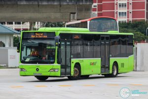 Not In Service - Go-Ahead Singapore Mercedes-Benz Citaro (SBS6499G)