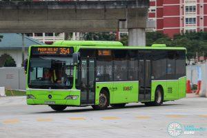 Bus 354 - Go-Ahead Singapore Mercedes-Benz Citaro (SBS6512B)
