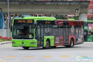 Bus 354 - Go-Ahead Singapore Mercedes-Benz Citaro (SBS6528G)