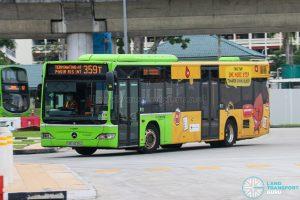 Bus 359T - Go-Ahead Mercedes-Benz Citaro (SBS6539A)