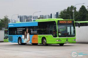 Bus 358T - Go-Ahead Singapore Mercedes-Benz Citaro (SBS6553H)