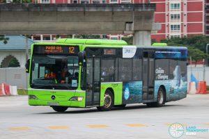 Bus 12 - Go-Ahead Singapore Mercedes-Benz Citaro (SBS6555C)
