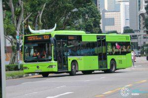 Bus 133 - SBS Transit Mercedes-Benz Citaro (SBS6570H)