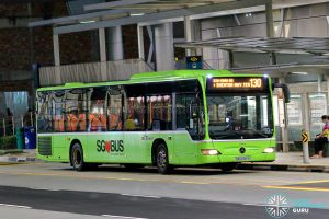 Bus 130 - SBS Transit Mercedes-Benz Citaro (SBS6581B)