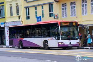 Bus 56 - SBS Transit Mercedes-Benz Citaro (SBS6659L)