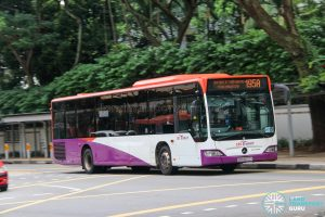 Bus 195A - SBS Transit Mercedes-Benz Citaro (SBS6672Y)
