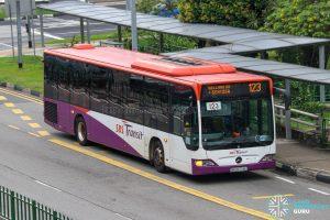 Bus 123 - SBS Transit Mercedes-Benz Citaro (SBS6774L)