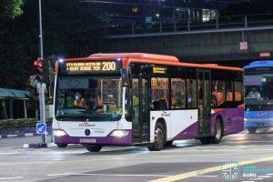 Bus 200 - SBS Transit Mercedes-Benz Citaro (SBS6780T)