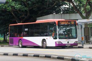 Bus 51 - SBS Transit Mercedes-Benz Citaro (SBS6791L)