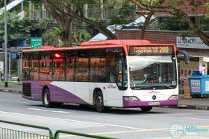 Bus 200 - SBS Transit Mercedes-Benz Citaro (SBS6849E)