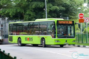 Bus 200 - SBS Transit Mercedes-Benz Citaro (SBS6880M)