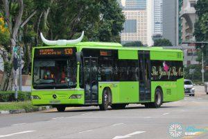 Bus 130 - SBS Transit Mercedes-Benz Citaro (SBS6889P)