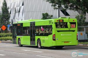 Bus 130 - SBS Transit Mercedes-Benz Citaro (SBS6889P) - Rear