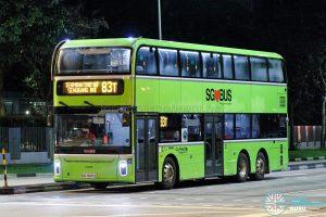 Bus 83T - Go-Ahead Singapore Yutong E12DD (SG7007Z)