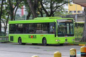 Bus 985 - SMRT Buses Mercedes-Benz OC500LE (SMB73A)