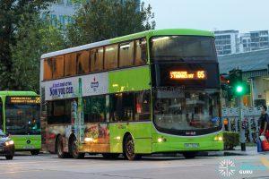 Bus 65 - SBS Transit Volvo B9TL CDGE (SBS7322B)