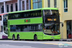 Bus 147 - SBS Transit Volvo B9TL CDGE (SBS7335P)