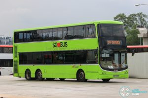Off Service - SBS Transit Volvo B9TL CDGE (SBS7340Z)