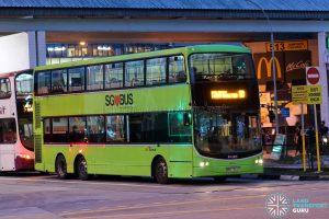 Bus 10 - SBS Transit Volvo B9TL CDGE (SBS7352P)