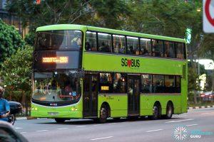 Bus 293 - SBS Transit Volvo B9TL CDGE (SBS7384Y)