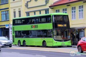 Bus 65 - SBS Transit Volvo B9TL CDGE (SBS7386S)