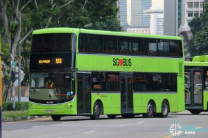 Express 513 - SBS Transit Volvo B9TL CDGE (SBS7401G)
