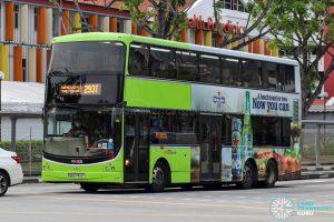 Bus 293T - SBS Transit Volvo B9TL CDGE (SBS7413Y)