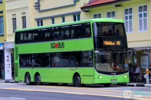 Bus 65 - SBS Transit Volvo B9TL CDGE (SBS7448Y)