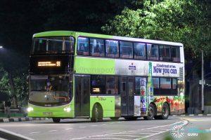 Bus 91 - SBS Transit Volvo B9TL CDGE (SBS7484S)